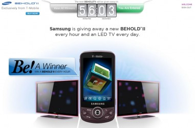 Samsung's Be A Winner Giveaway
