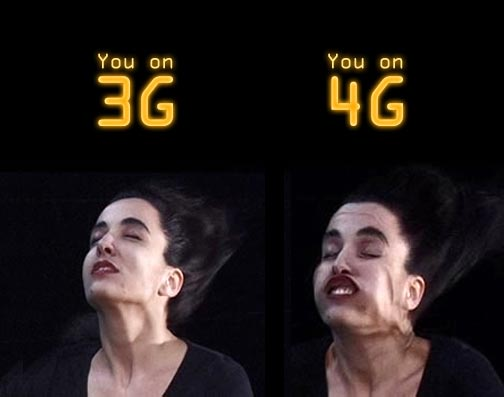 3G and 4G comparison
