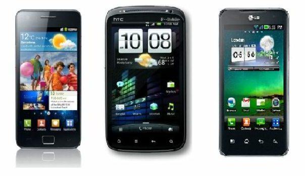 Duel between high-end Smartphones: Samsung Galaxy S2 vs. HTC sensation