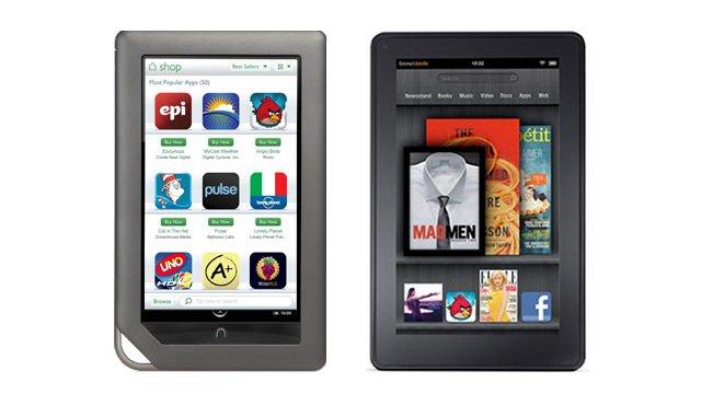 Nook Tablet vs Kindle Fire: Tough Choice!