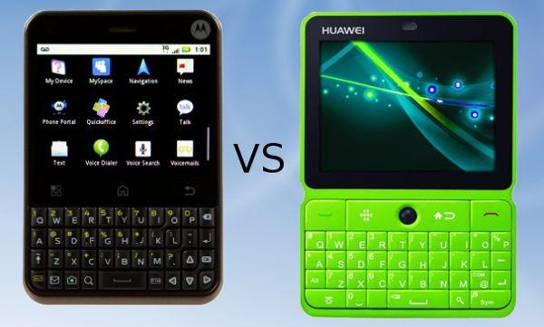 Motorola Charm Vs Huawei U8300