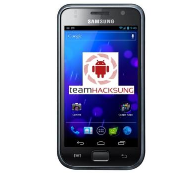 Upgrade Samsung Galaxy S GT-I9000 to Team Hacksung ICS ROM ...