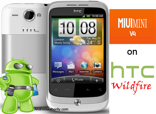 htc wildfire white