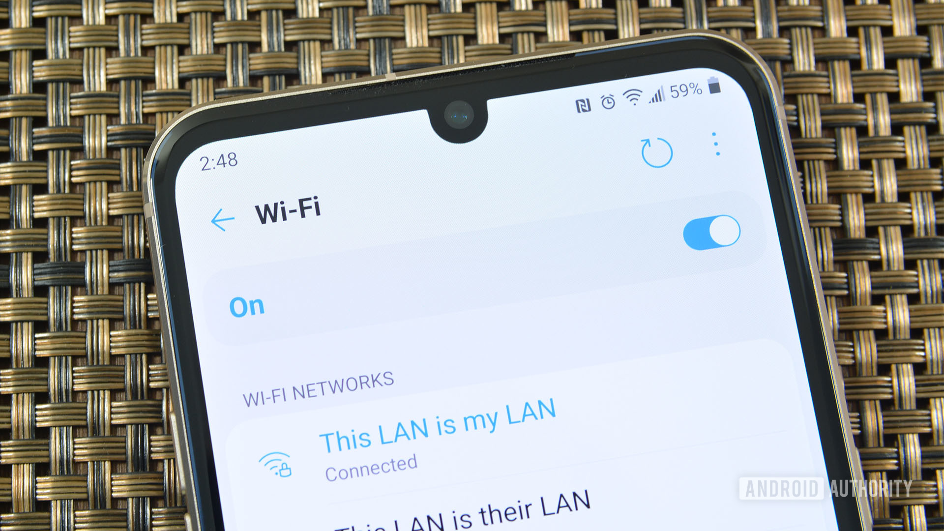 WiFi Settings LG V60 - best Wi-Fi apps for Android