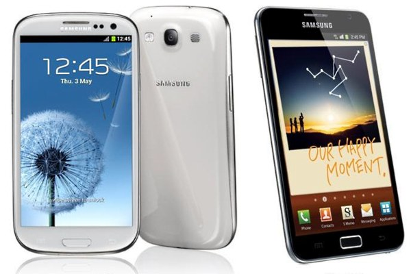 galaxy s3 vs galaxy note comparison video