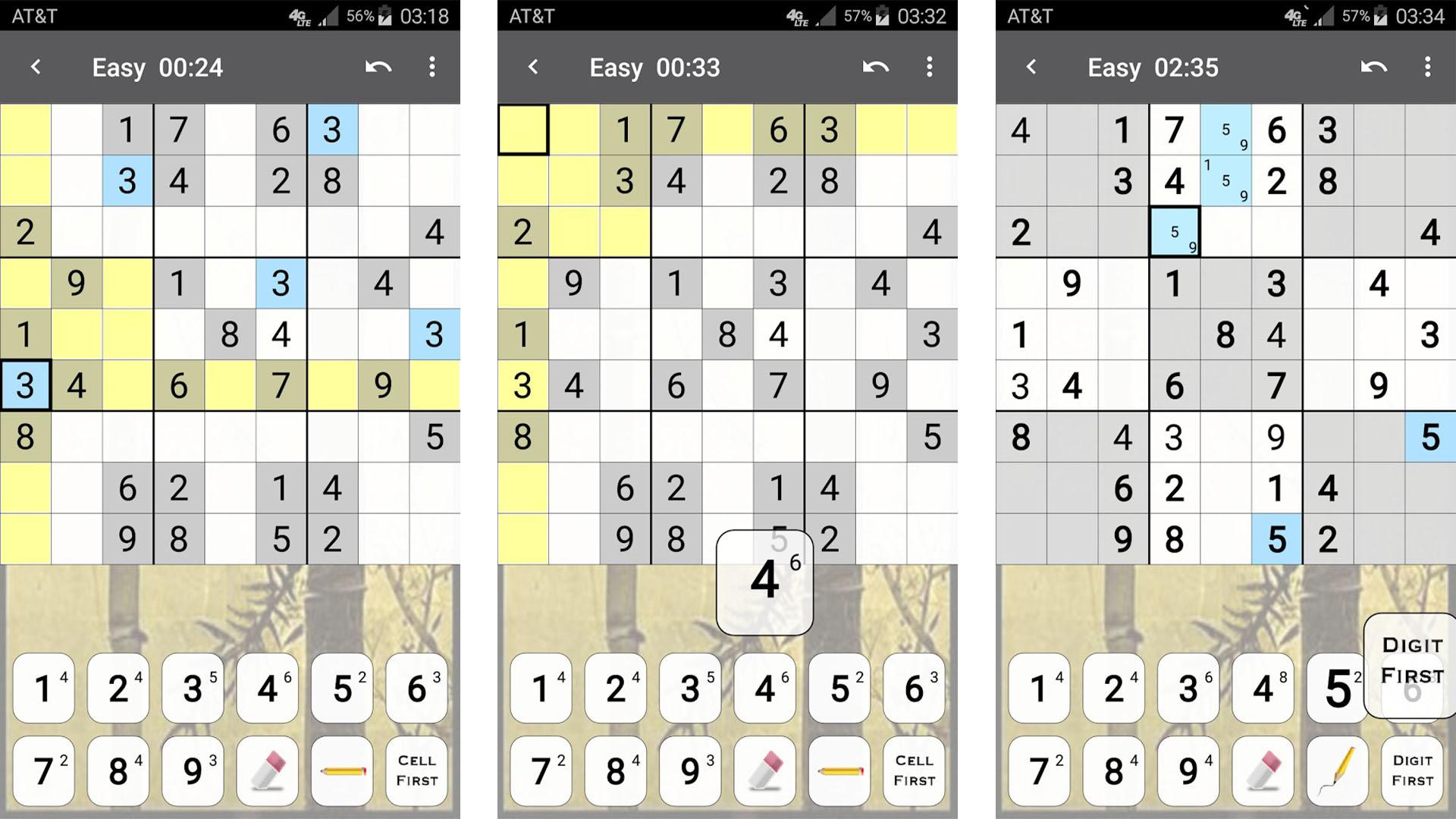 Genina Sudoku screenshot