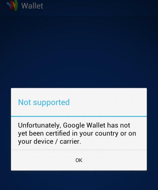 Google Wallet Sprint HTC Evo LTE