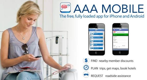 AAA Mobile comes with roadside assistance maps and driving directions – Aaa Travel Maps And Directions