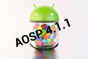 Android Jelly Bean AOSP 4.1.1