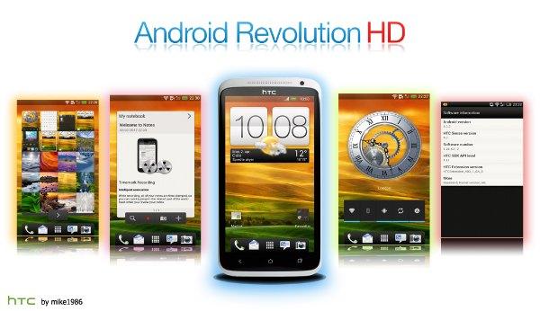 android revolution hd custom rom