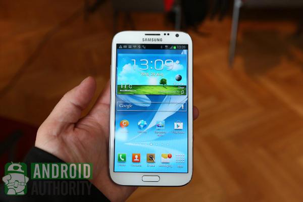 Samsung Galaxy S3 vs Samsung Galaxy Note 2 (updated)