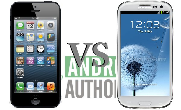 2 galaxy s3 vs iphone 5