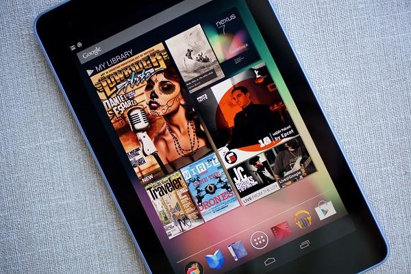 Google Nexus 7 720p recording