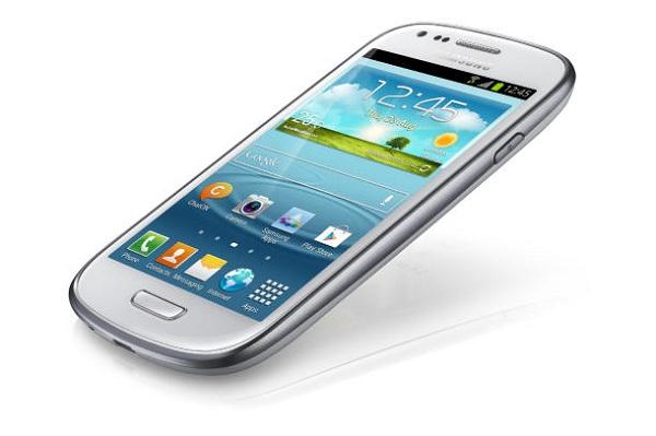 Galaxy S3 Mini front