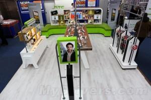 HTC concept retail store