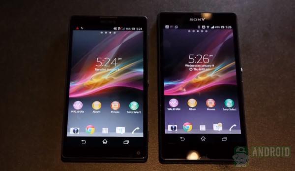 Sony Xperia Z vs Sony Xperia ZL [aa] (1)