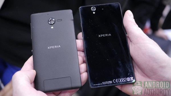 Sony Xperia Z vs Sony Xperia ZL: waterproof vs compact