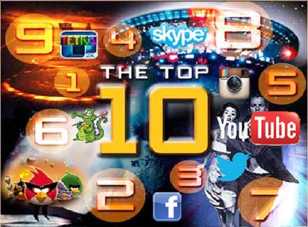 top apps 2012