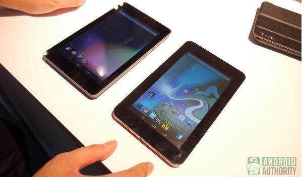 HP Slate 7 vs Google Nexus 7 2