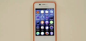Mozilla Firefox OS on Alcatel phone