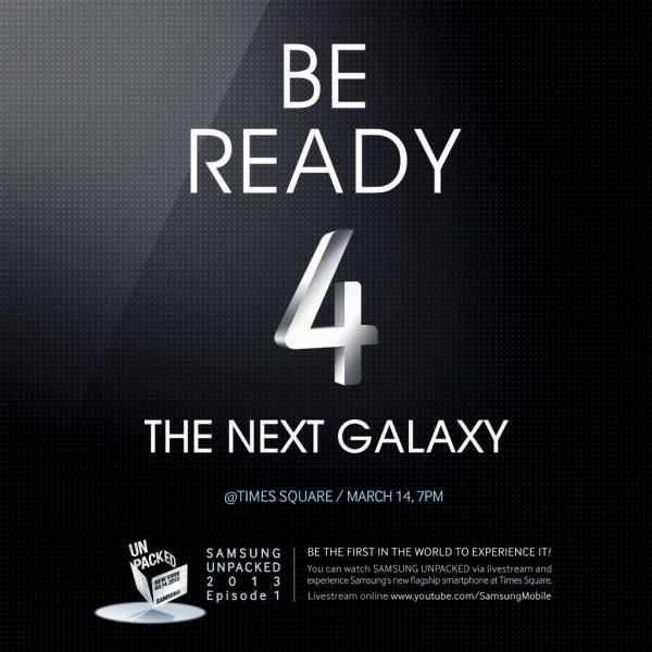 samsung times square galaxy s4 invite 2
