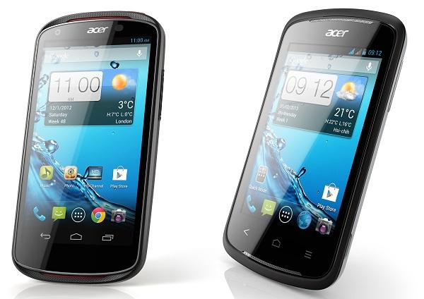 Acer Liquid E1 and Liquid Z2