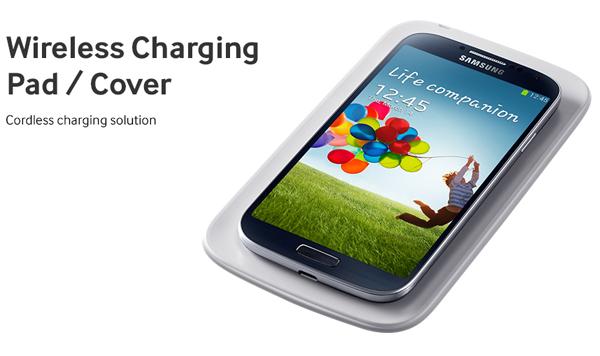 Galaxy S4 charging pad