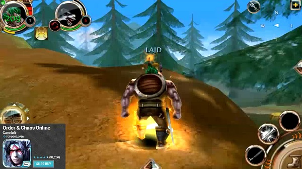 Order & Chaos best Android MMOMRPGs