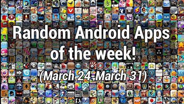 random apps of the week