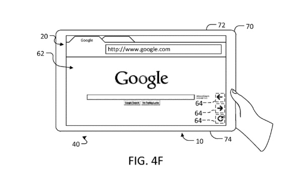 google patent adaptable ui