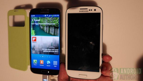 samsung galaxy s4 vs galaxy S3 aa 600