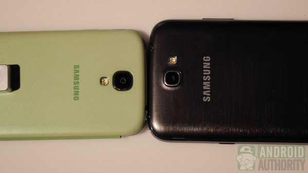 samsung galaxy s4 vs galaxy note 2 3 aa 600