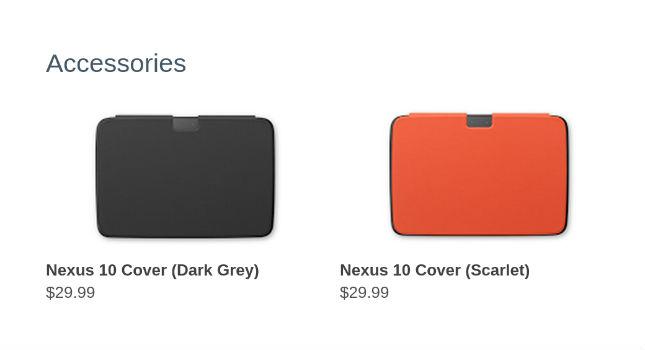 Nexus 10 covers 2