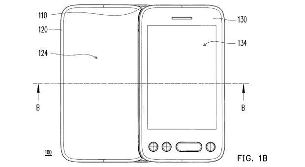 HTC Dual screen patent