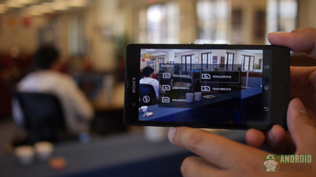 htc one vs sony xperia z z camera aa