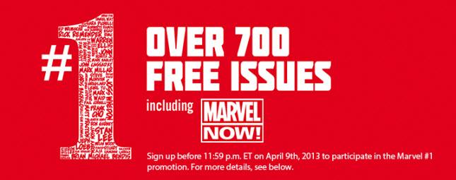 marvel comics giveaway