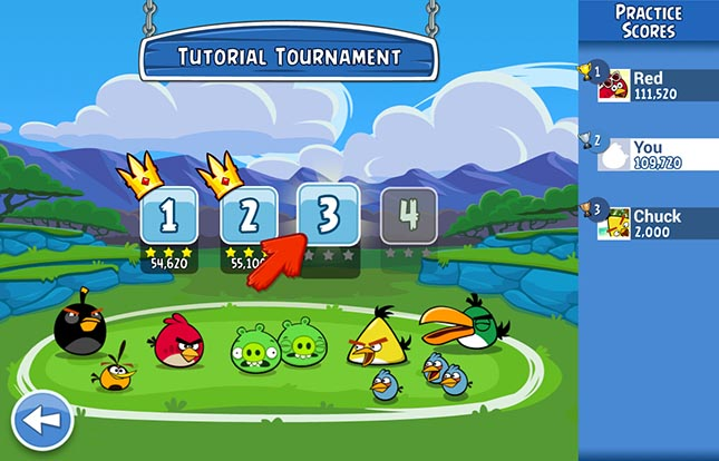 Angry Birds Friends 4