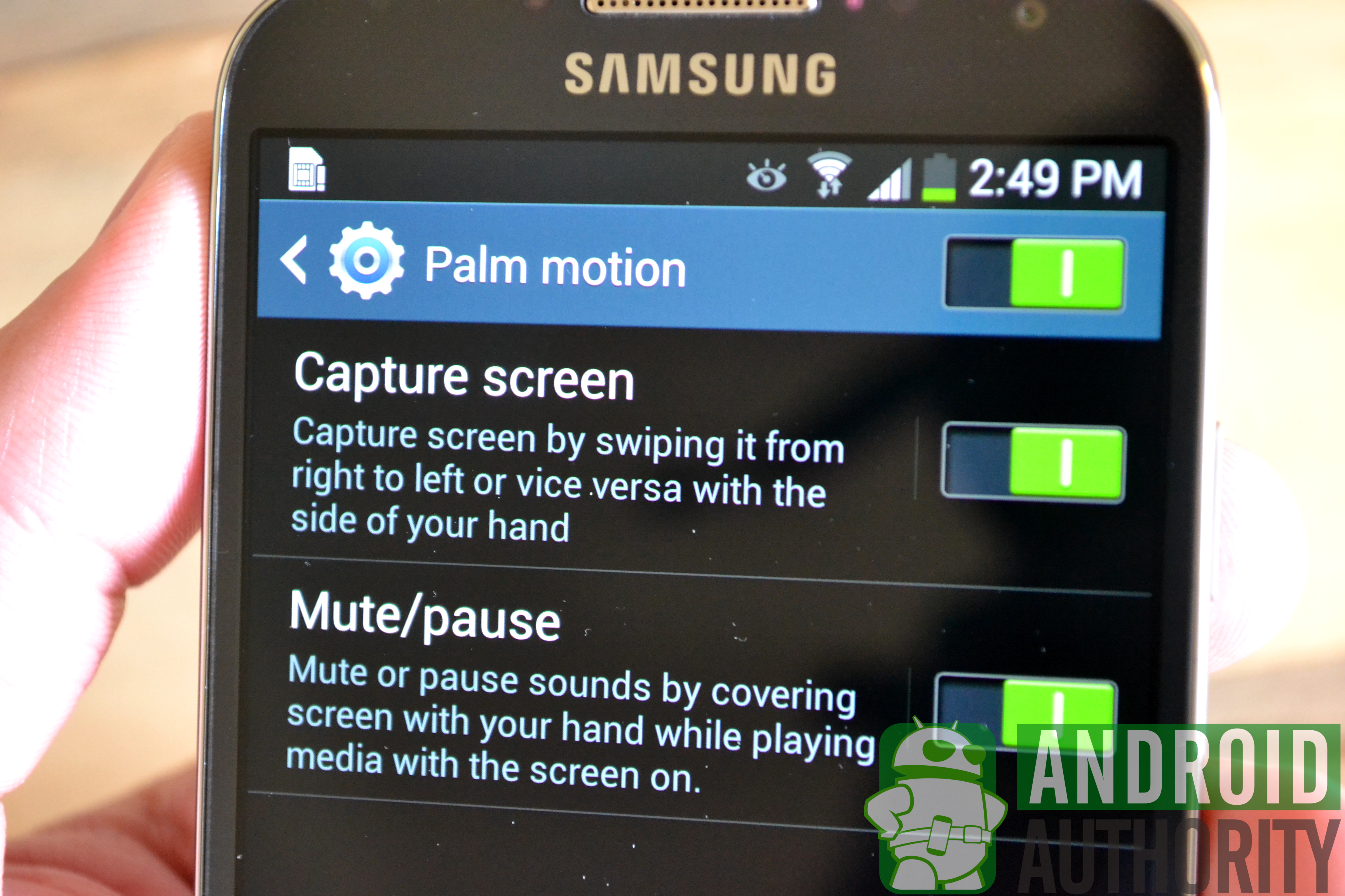 Phone Capture Screen Android Phone galaxy s4 screenshot a how to guide enable use method 2