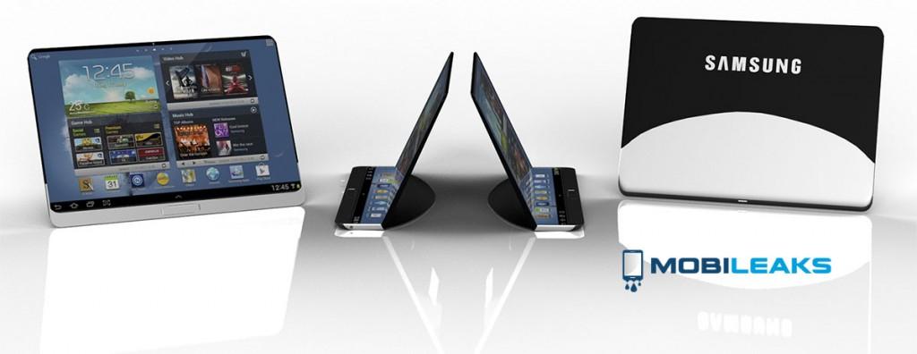 samsung flexible tablet render 2