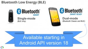 Bluetooth Smart coming to Android API 18