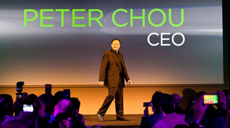 HTC CEO Peter Chou