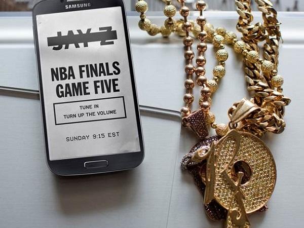 Samsung Jay Z teaser