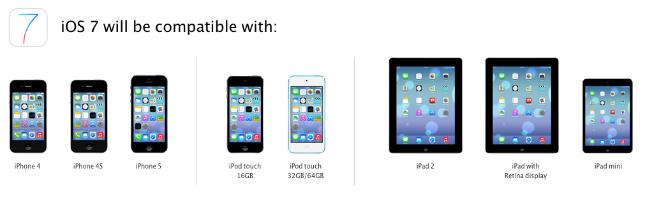 iOS 7 Compatibility