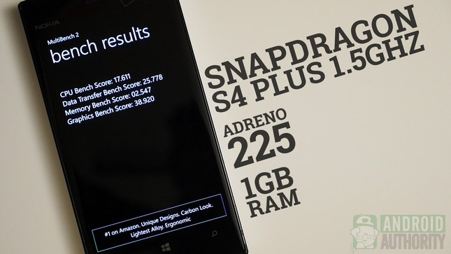 nokia lumia 928 aa performance