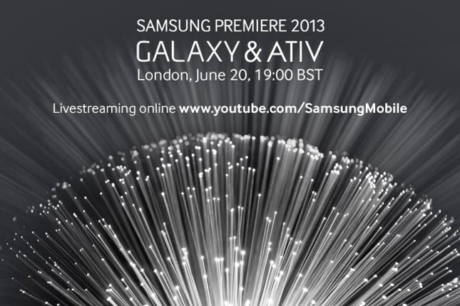 Samsung Premiere 2013 event on Thursday to be live streamed