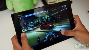 sony xperia tablet z aa gaming
