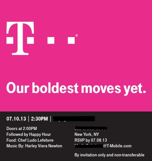 t-mobile press event