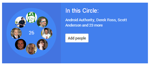 Team AA Google+ Circle