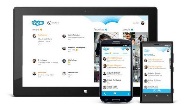 Skype for Android update