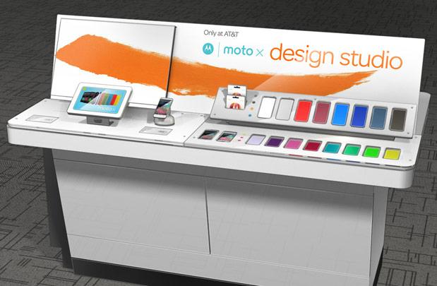 Moto X design station